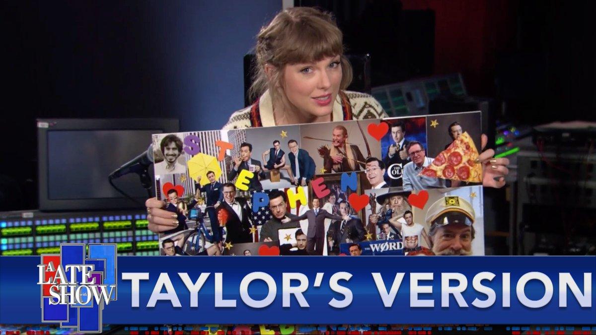 @colbertlateshow's photo on Taylor