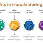 Image for the Tweet beginning: Benefits of #IoT in #manufacturing