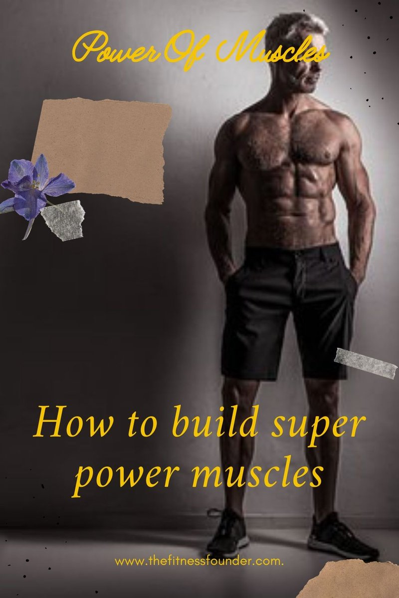 How to build super power muscles https://t.co/wOas9Mj5Jh #diet #fitness #health #muscles #thefitnessfounder #workout https://t.co/ybLGgCgQEy