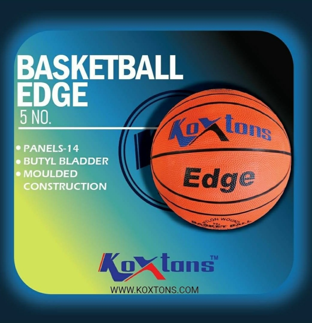 Take it outside with the Edge Basketball. This durable and lively basketball can do it all, indoors or out. For detailed enquiry DM us on 9068811125. #basketball #basketballsports  #indooroutdoorsport #basketballplay #KoxtonSports #Koxtons https://t.co/XrCdbSLykX
