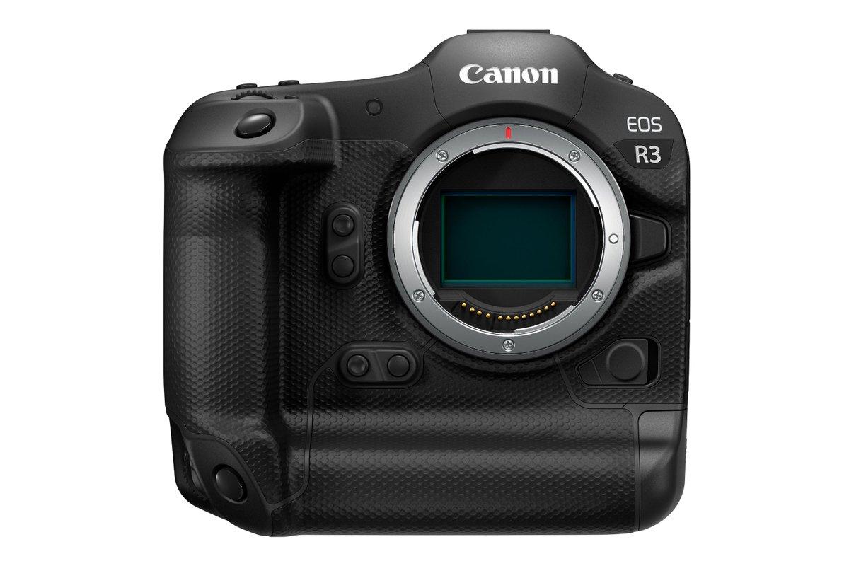 Canon announces EOS R3 pro mirrorless camera in development