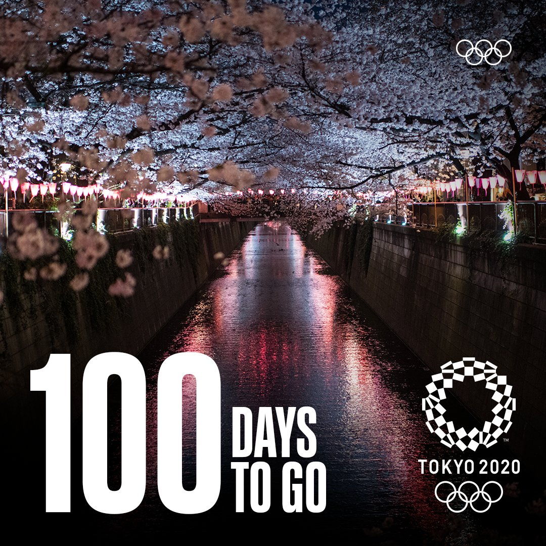 RT @Olympics: July 23, 2021. The @Tokyo2020 Olympic Games are coming. #100DaysToGo #StrongerTogether https://t.co/DsGwAPFv77