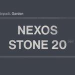 Image for the Tweet beginning: Urbaner Naturstein-Look im XXL-Outdoor-Format. Nexos