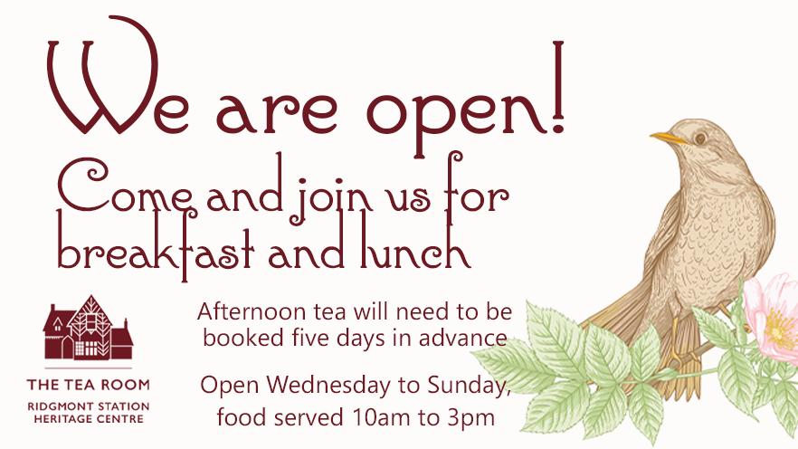 The Tea Room reopens today! 🧁  #breakfast #lunch #afternoontea #creamtea