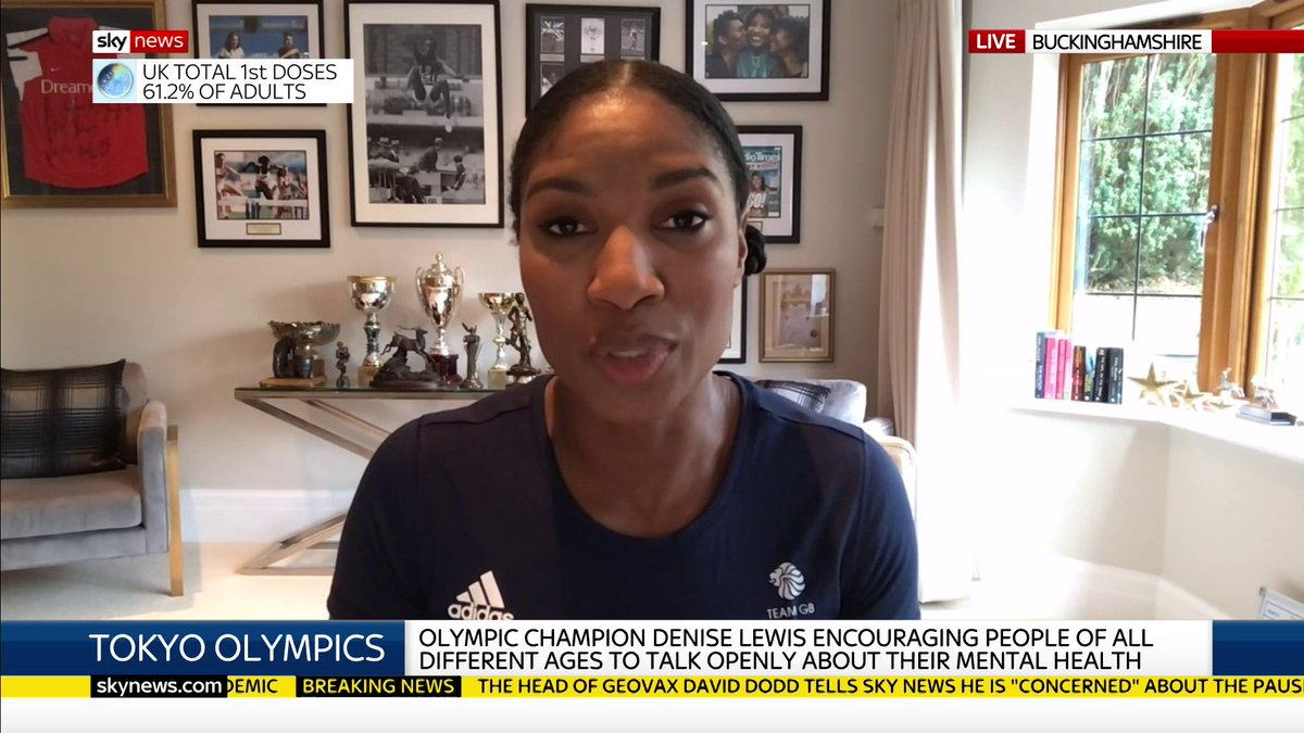 Great interview with @RealDeniseLewis on @SkyNews this morning. ⬇  Many of us have felt isolated or vulnerable at some point during lockdown, so we are proud to be helping Denise and @Haven encourage people to break social taboos and talk more openly about their mental health.