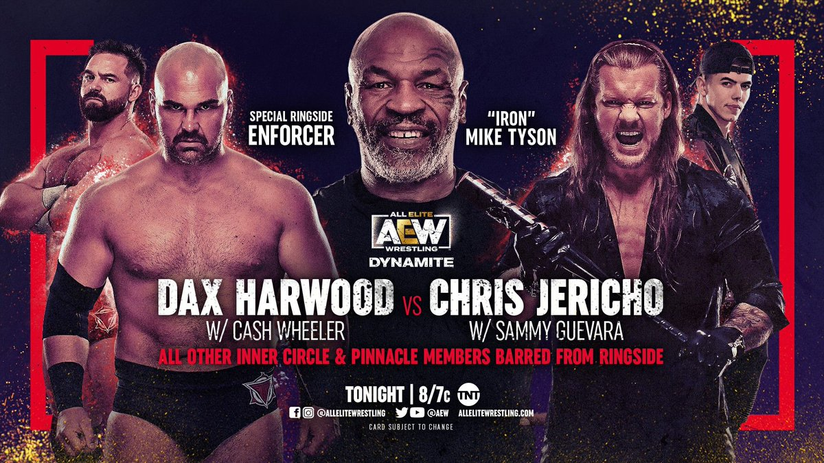 AEW Dynamite Preview: Two Title Matches, Mike Tyson, Kris Statlander