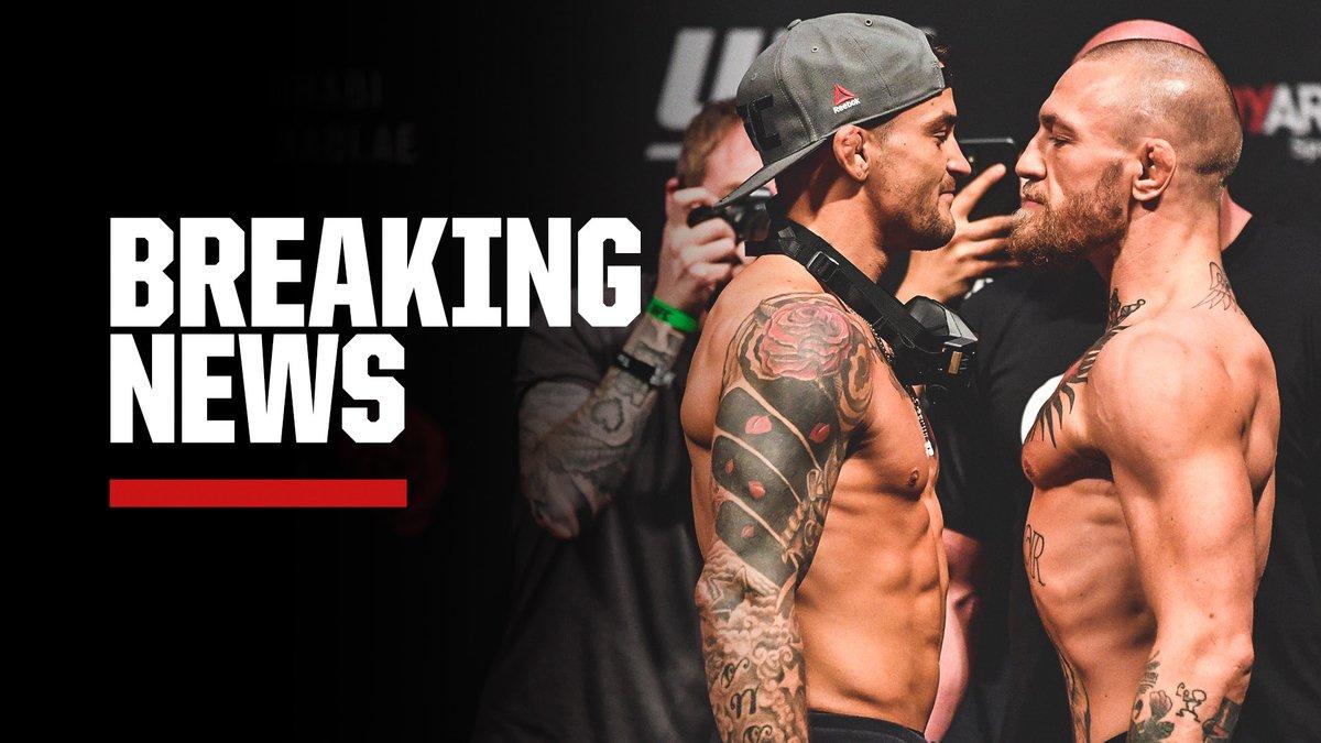 Breaking: The Dustin Poirier vs. Conor McGregor trilogy is officially set for July 10 at UFC 264 in Las Vegas, @ufc President Dana White announced on social media. https://t.co/Fkto9TTpgh