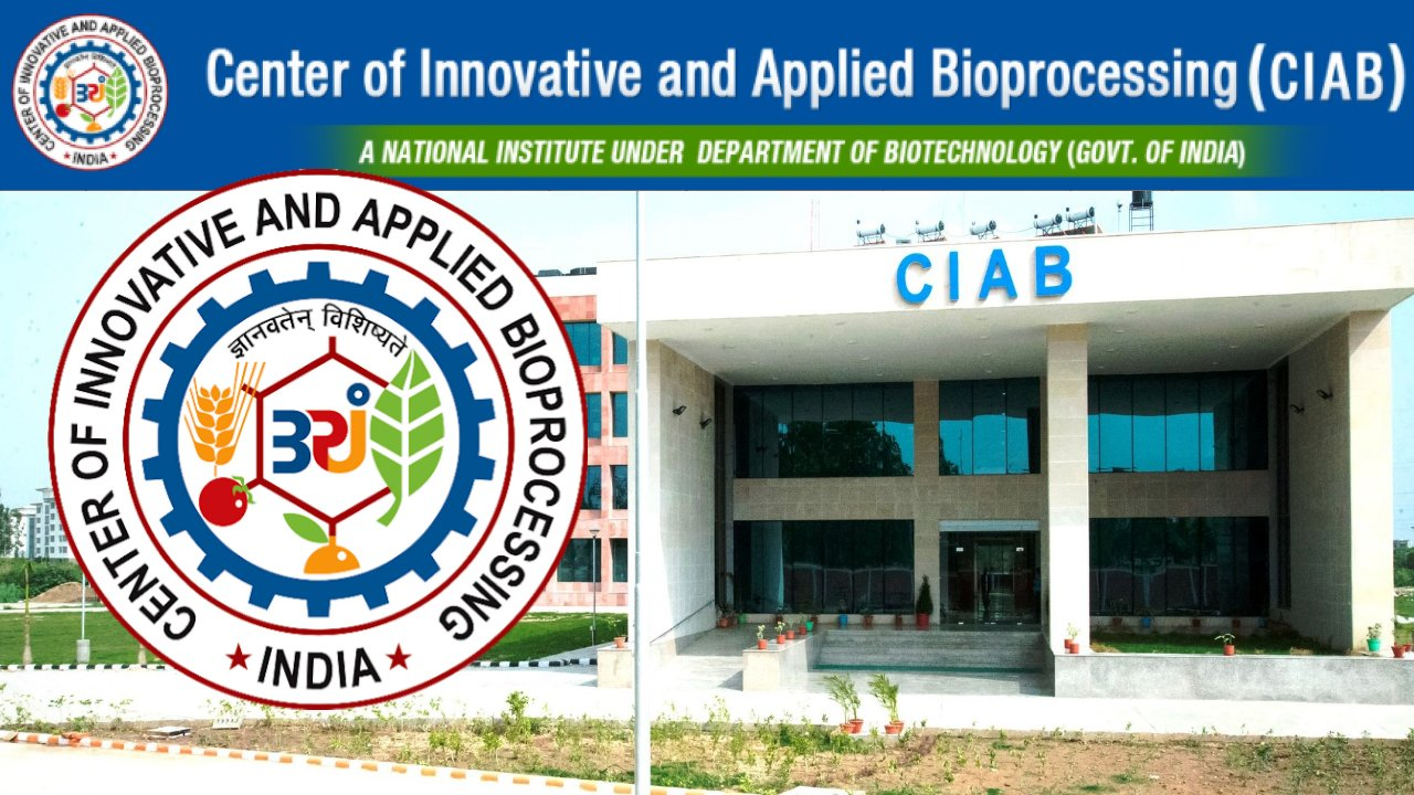 Research Associate Position in CIAB, Mohali, Punjab, India (Walk-in-Interview)