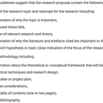 Image for the Tweet beginning: Writing a research proposal? How