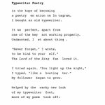 Image for the Tweet beginning: Here'  a new poem