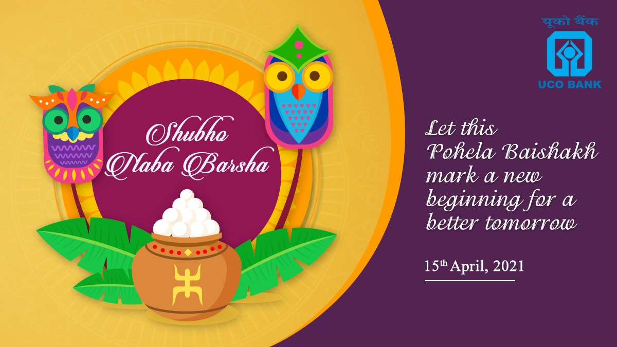 This Bengali New Year, may you achieve success, peace and happiness. UCOBank wishes you all a Shubho Naba Barsha https t