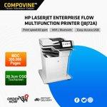 Image for the Tweet beginning: HP LASERJET ENTERPRISE FLOW M632Z