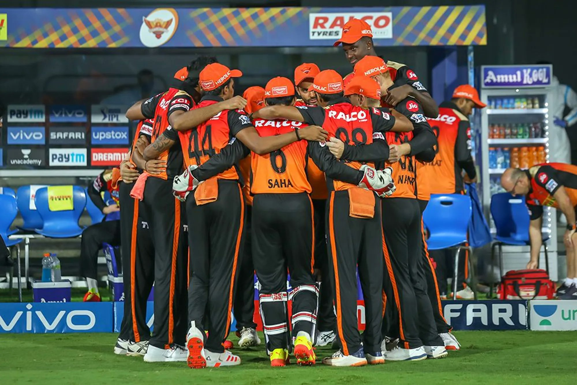 "SunRisers Hyderabad on Twitter: ""A tough day at the office. We go again on  17th. #SRHvRCB #OrangeOrNothing #OrangeArmy #IPL2021… """