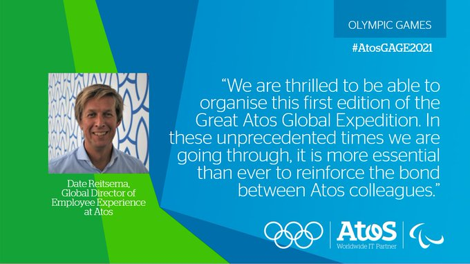 The Great Atos Global Expedition is aimed at inspiring to remain #StrongerTogether. It will...