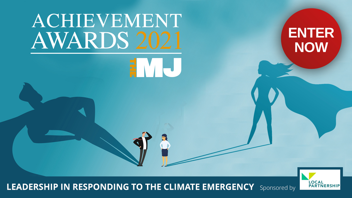 RT @TheMJAwards Has your team shown leadership in responding to the climate emergency? Enter the category now, sponsored by @LP_localgov : https://t.co/mAoXfH3yZE