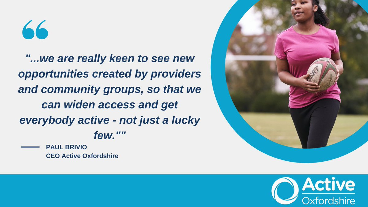 The reopening of outdoor facilities is one huge step forward in being able to support #Oxfordshire to stay active – improving both our community's physical and mental health. Read more here: https://t.co/dRKoJ5zPqa #ReturnToPlay #GetActive