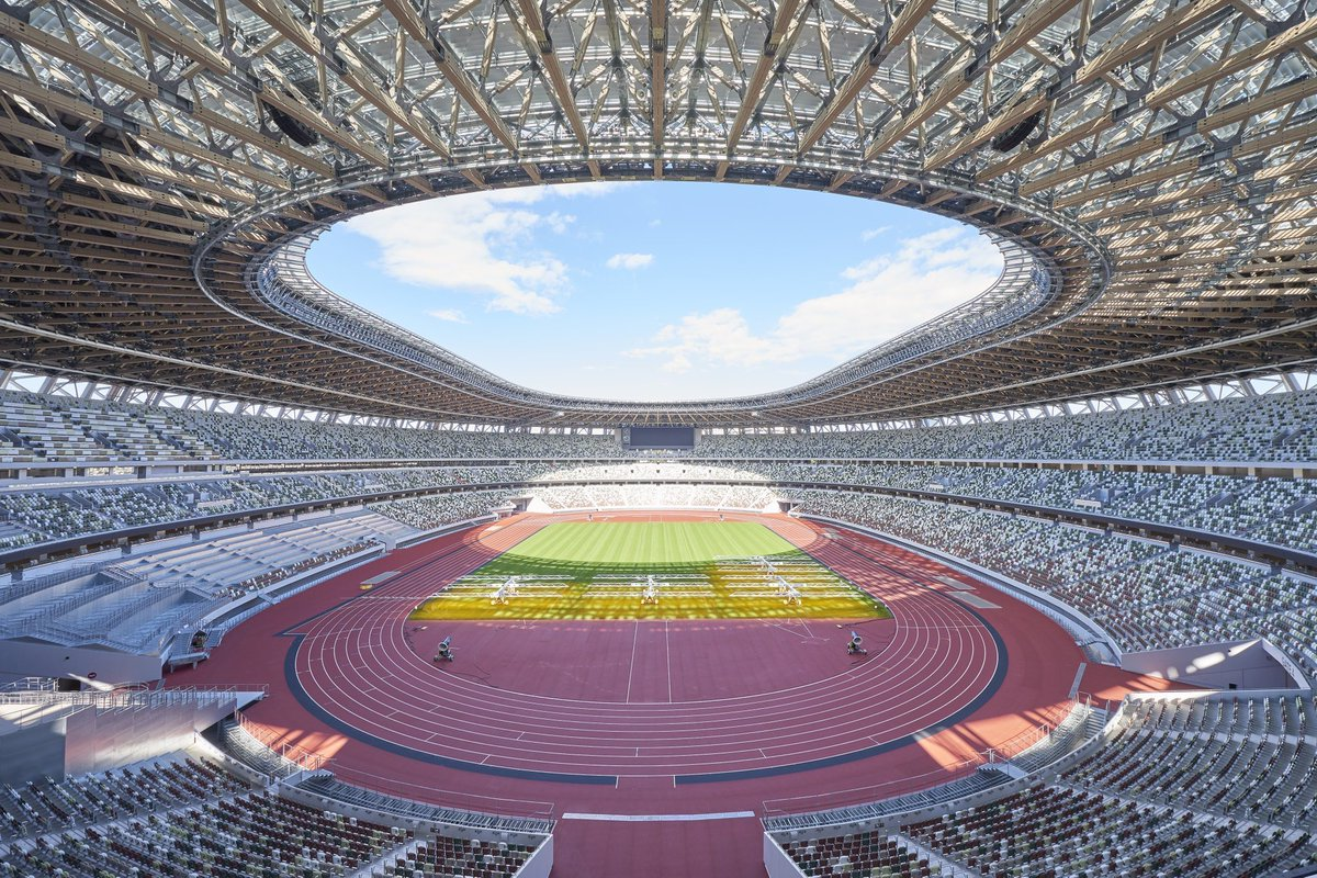 RT @TeamRunner4Life: The Tokyo 2021 Olympic Stadium is 😍 #100DaysToGo https://t.co/iVu3x9gDPy