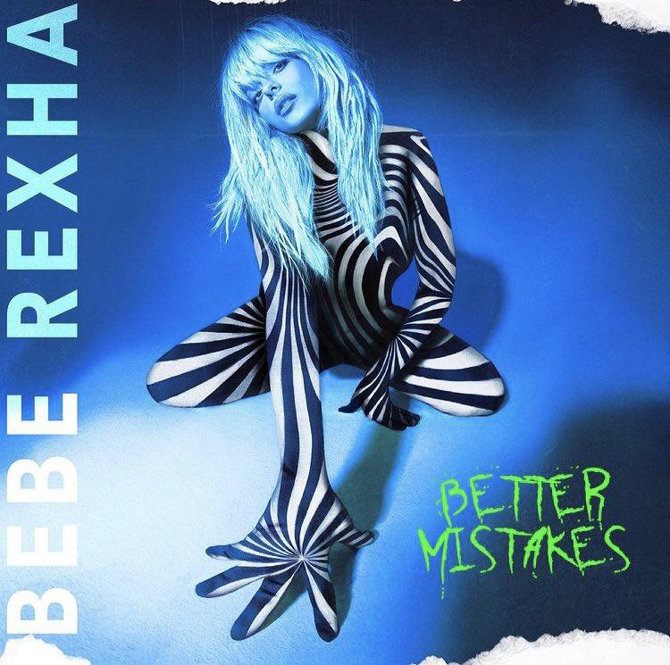 """RT @PortalTracklist: 🚨 VEM AÍ! Bebe Rexha anunciou o seu novo álbum """"Better Mistakes"""" para o dia 7 de maio! https://t.co/Qr9qLuPw7P"""