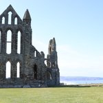 Image for the Tweet beginning: Dracula's lair - Whitby Abbey