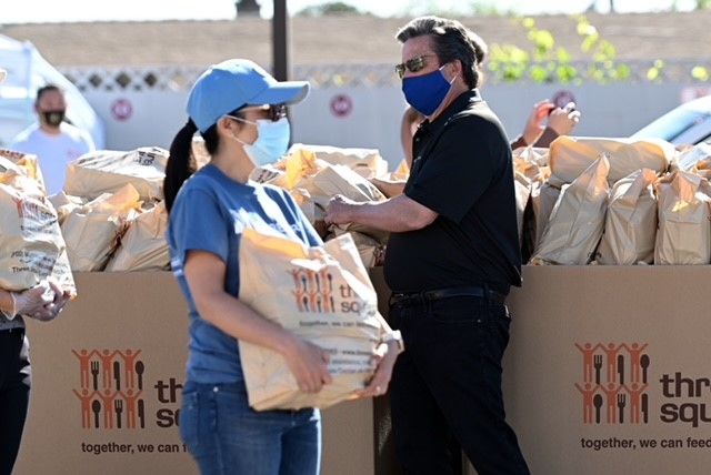 We're grateful for terrific partners like @MGMResortsIntl and The @Raiders, who believe no one in our community should be hungry. #hungerfreesnv