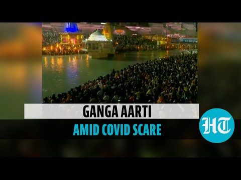 Image for the Tweet beginning: Watch | Lakhs of devotees
