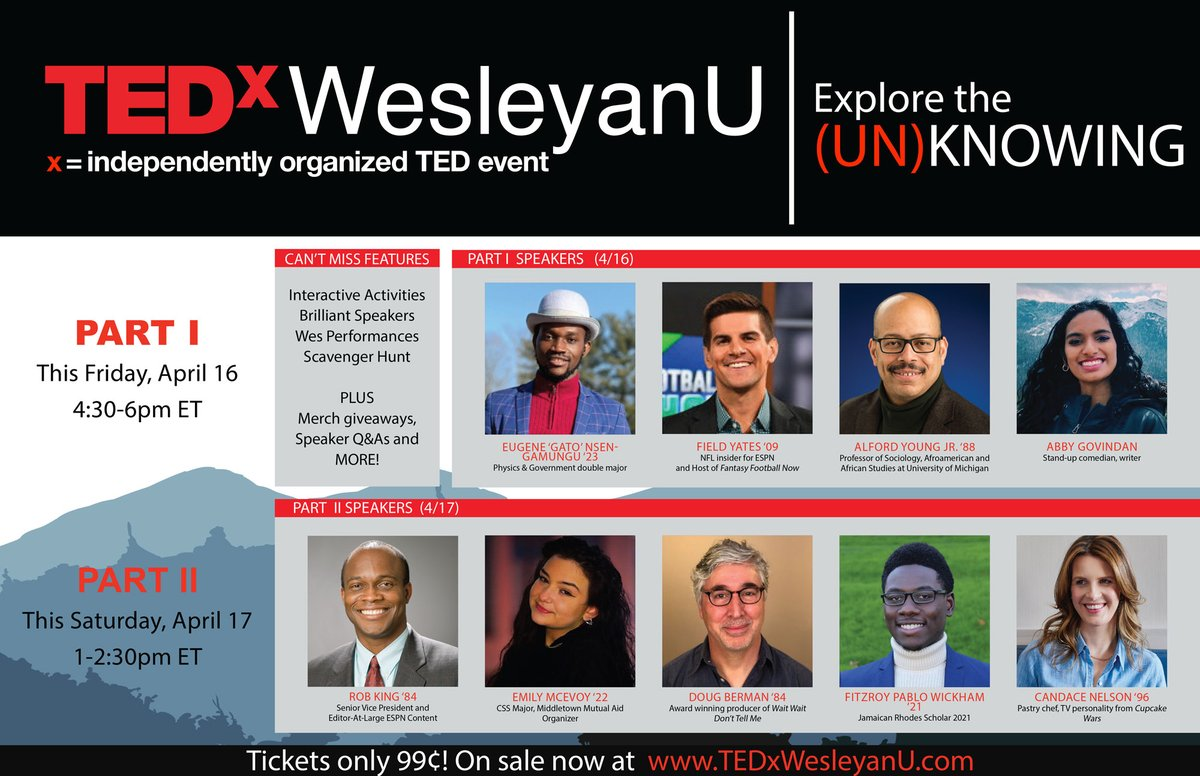 test Twitter Media - This year's virtual TEDxWesleyanU conference is just two days away. Don't miss this two-day event packed with brilliant speakers, interactive activities, giveaways, and more. Register for tickets: https://t.co/Mqs7IqNUx9 https://t.co/TbcX2hHpE7