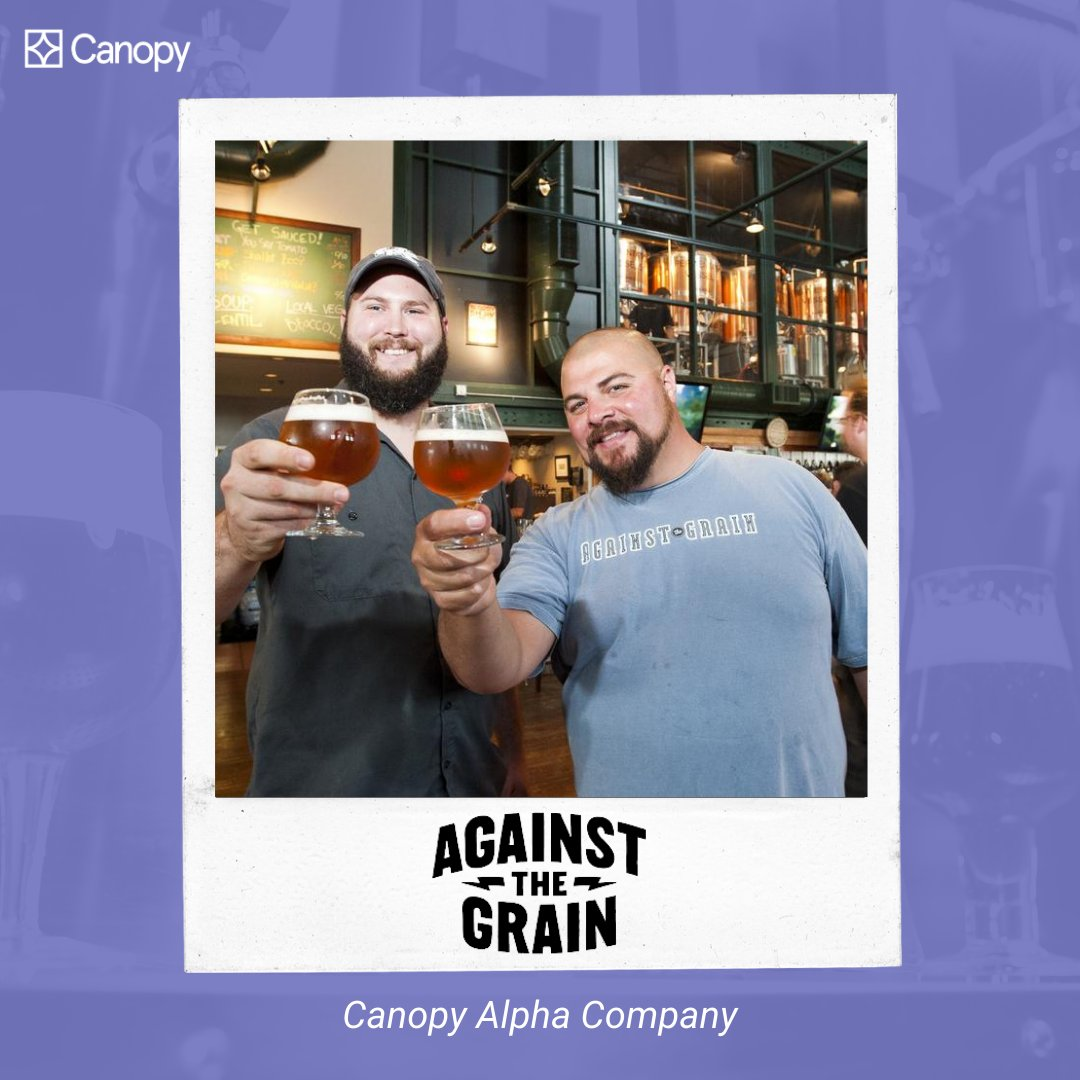 #NationalBeerDay was last week, but we're shouting out @AtGBrewery, a Canopy Alpha Company, today! They helped us create a great Canopy Certification experience. And not only do they brew award-winning beers, they also serve the community with their newsletter & community grants. https://t.co/cB4BadkG1f