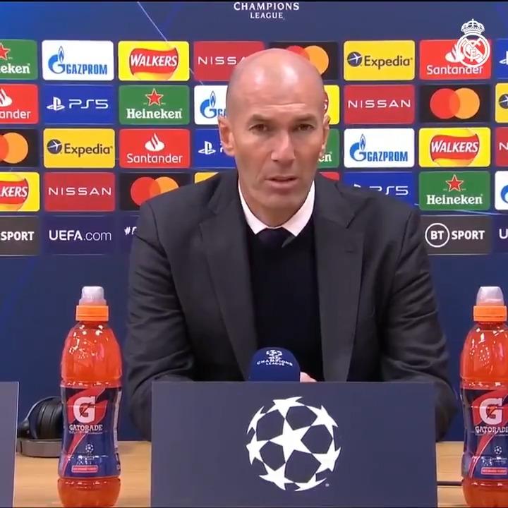💬 ¡El análisis de Zidane tras el pase a la siguiente ronda de #UCL! https://t.co/lLiaGr48wV
