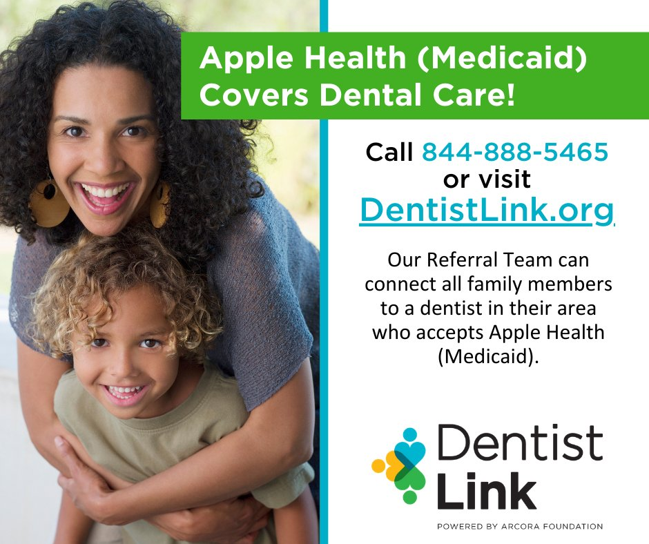 Apple Health (Medicaid) continues to cover dental care for both children and adults. For those who need care, DentistLink can connect them at no cost to a local dentist who accepts their insurance: https://dentistlink.org/