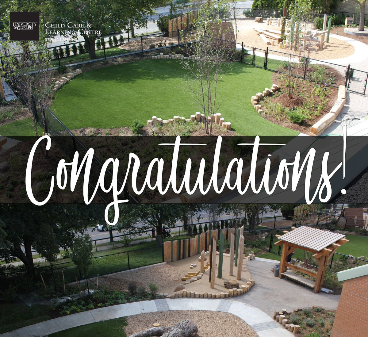 We are so grateful to have led this project with @UofG_CCLC to win a @CSLA_AAPC National award.  We hope it inspires possibilities for outdoor learning in the early years!