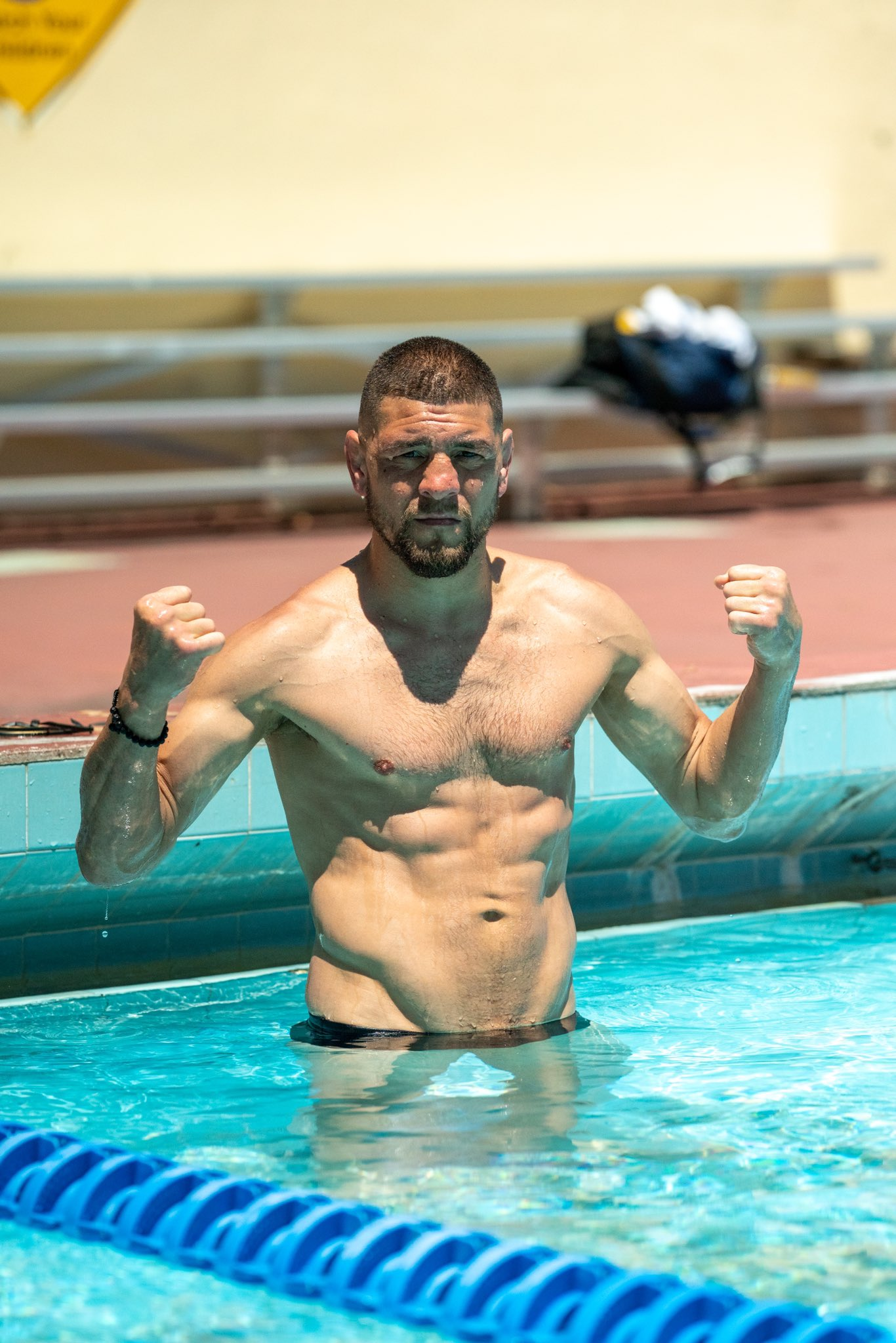 Photos: 37-year-old Nick Diaz showed impressive form