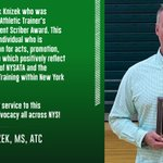 Image for the Tweet beginning: Congratulations to Rick Knizek who