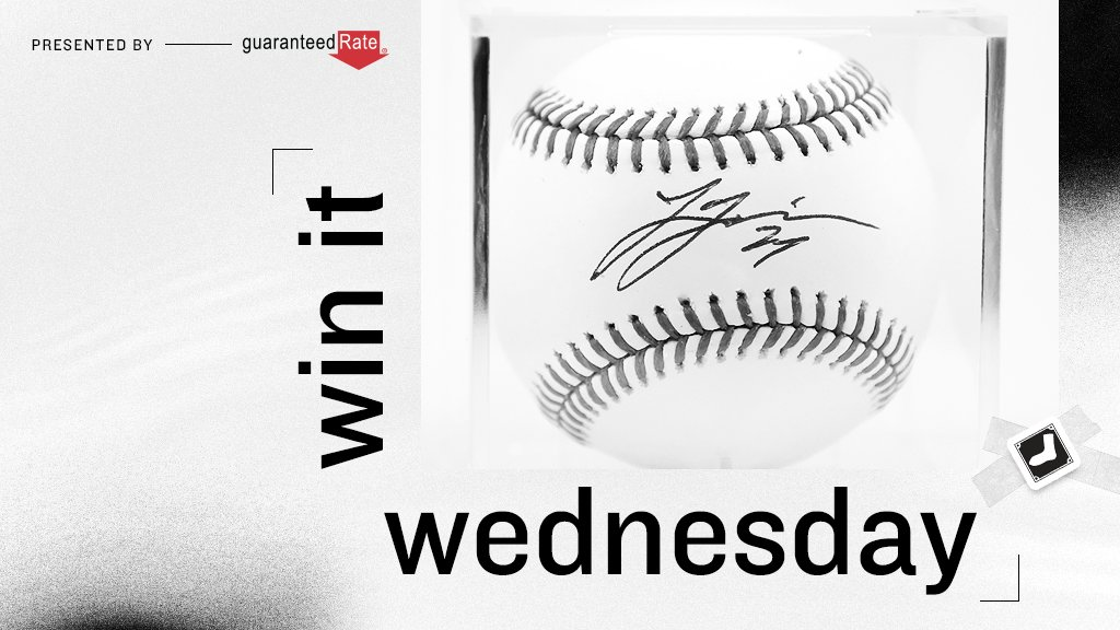 RETWEET for a chance to win an autographed Lucas Giolito baseball. #ChangetheGame x @GuaranteedRate   No purch. nec. Enter by 11:59 p.m. CT on 4/14/21. https://t.co/lvLTFM2Zne https://t.co/qAIoL87jfn