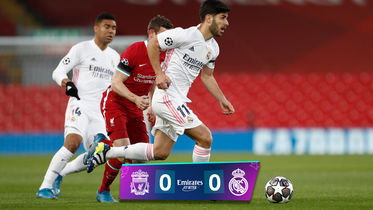 🏁 FP: @LFC 0-0 @realmadrid (res. total: 1-3) #Emirates   #UCL https://t.co/wcABBqKvy5