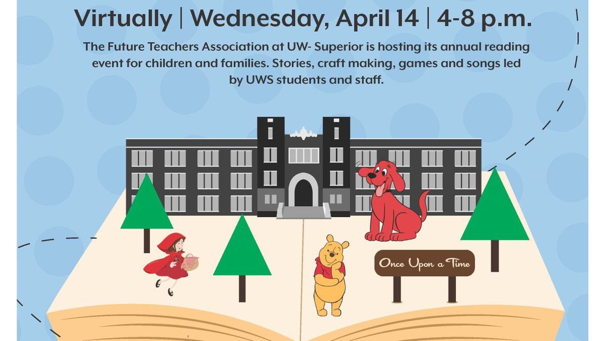 Join us this evening from 4 to 8 for readings and activities. Children and families will be able to listen to stories, create cr...