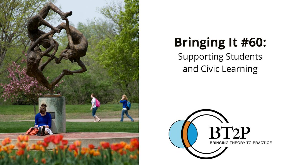Check out the newest edition of #BringingIt to find out more about current efforts to support students and civic leaning!  Read more here: https://t.co/gipGAHNO1W