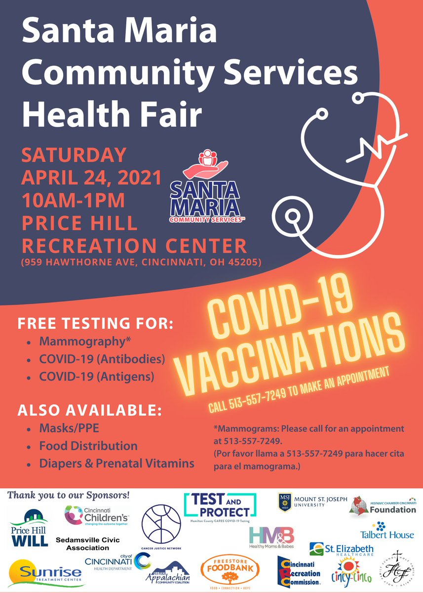 ⬇️⬇️ #PriceHill #Cincy #CovidVaccine