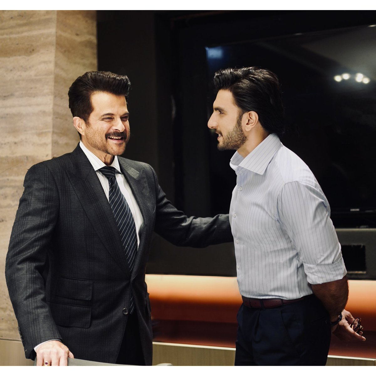 Can't express the gratitude 🙏🏽 the pride,the utter delight & sheer joy of collaborating with one of my most admired screen idols 🌟I deeply cherish the bond that we share 🧿He is one-of-a-kind. Giant of a performer. Legend of an artist 👑 One of Hindi cinema's finest @AnilKapoor