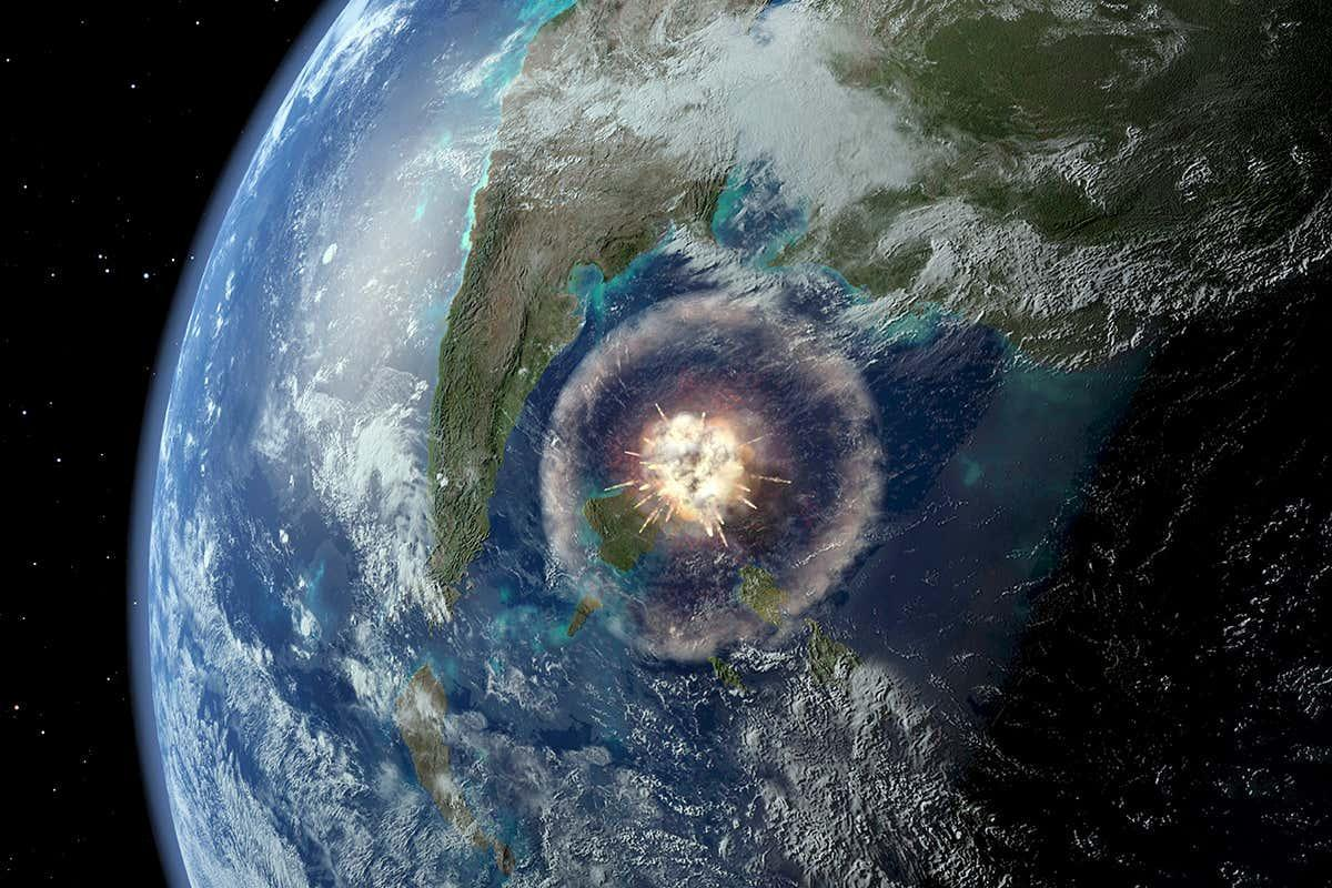 newscientist: Asteroid that killed the dinosaurs gave birth to the Amazon rainforest