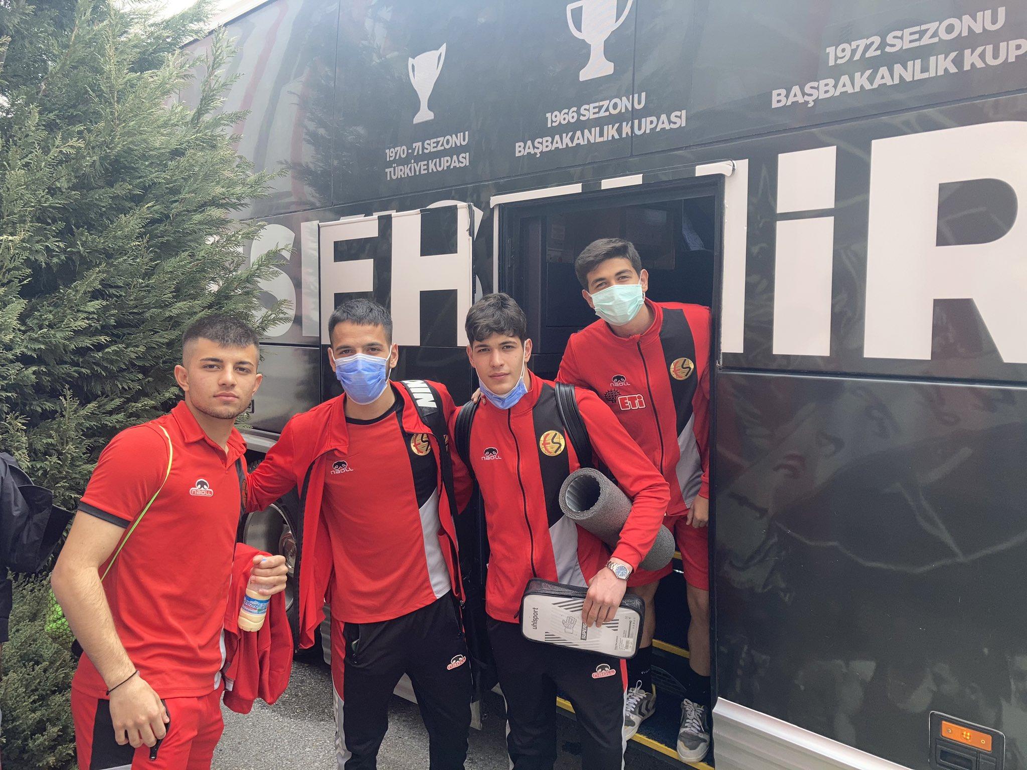 Eskişehirspor'un Altınordu kafilesi belli oldu