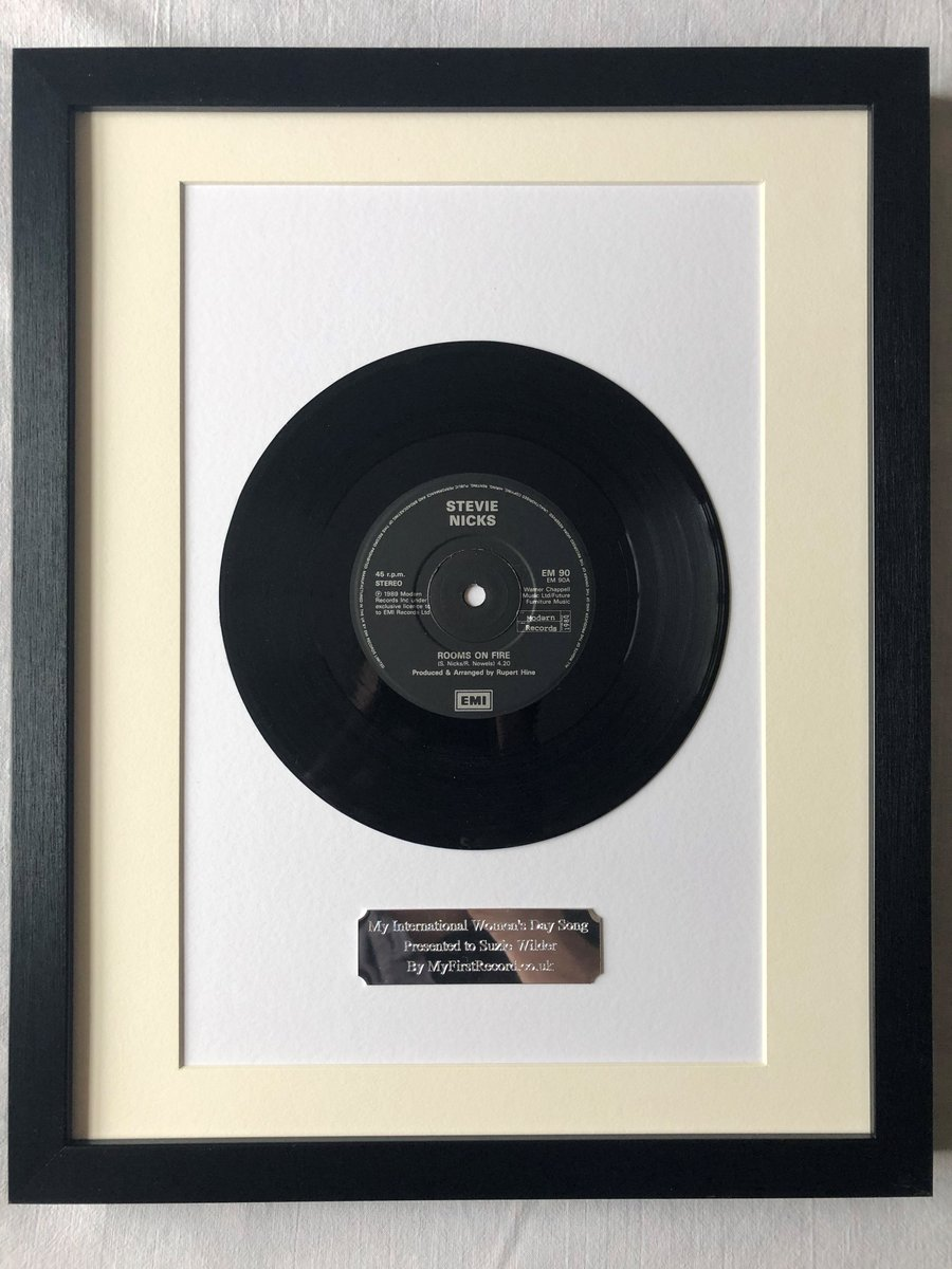As Stevie Nicks is trending for no apparent reason, we will hang this #StevieNicks masterpiece in the #RockandRollHallofFrame picture gallery @ MyFirstRecord Manor