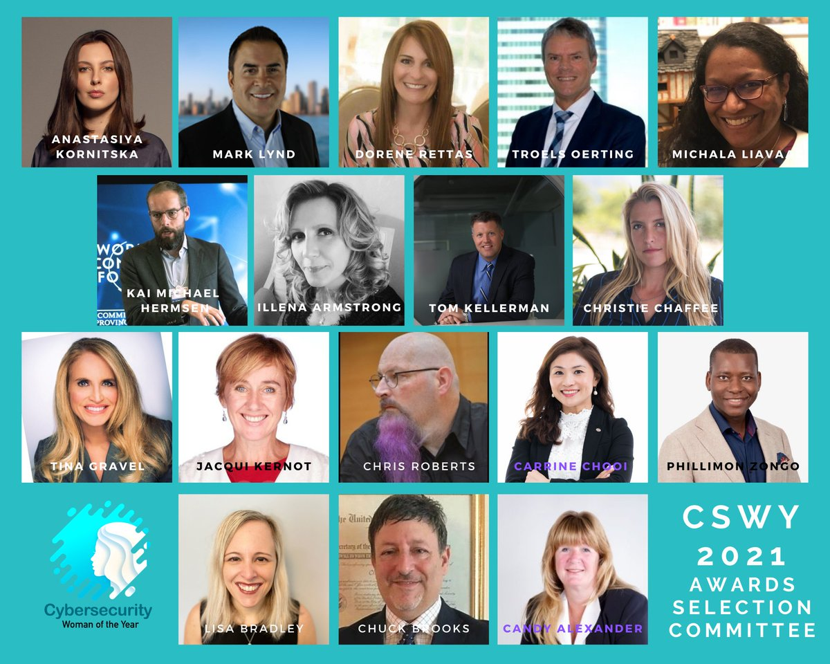 Honored to be a judge for global Cybersecurity Woman of the Year alongside my distinguished colleagues.  Nominations are open  Thank you @KarmenINTL  #CSWY2021 #cybersecuritywomanoftheyear #womenincyber #womenincybersecurity  #cybersecurity #infosec #Netsync
