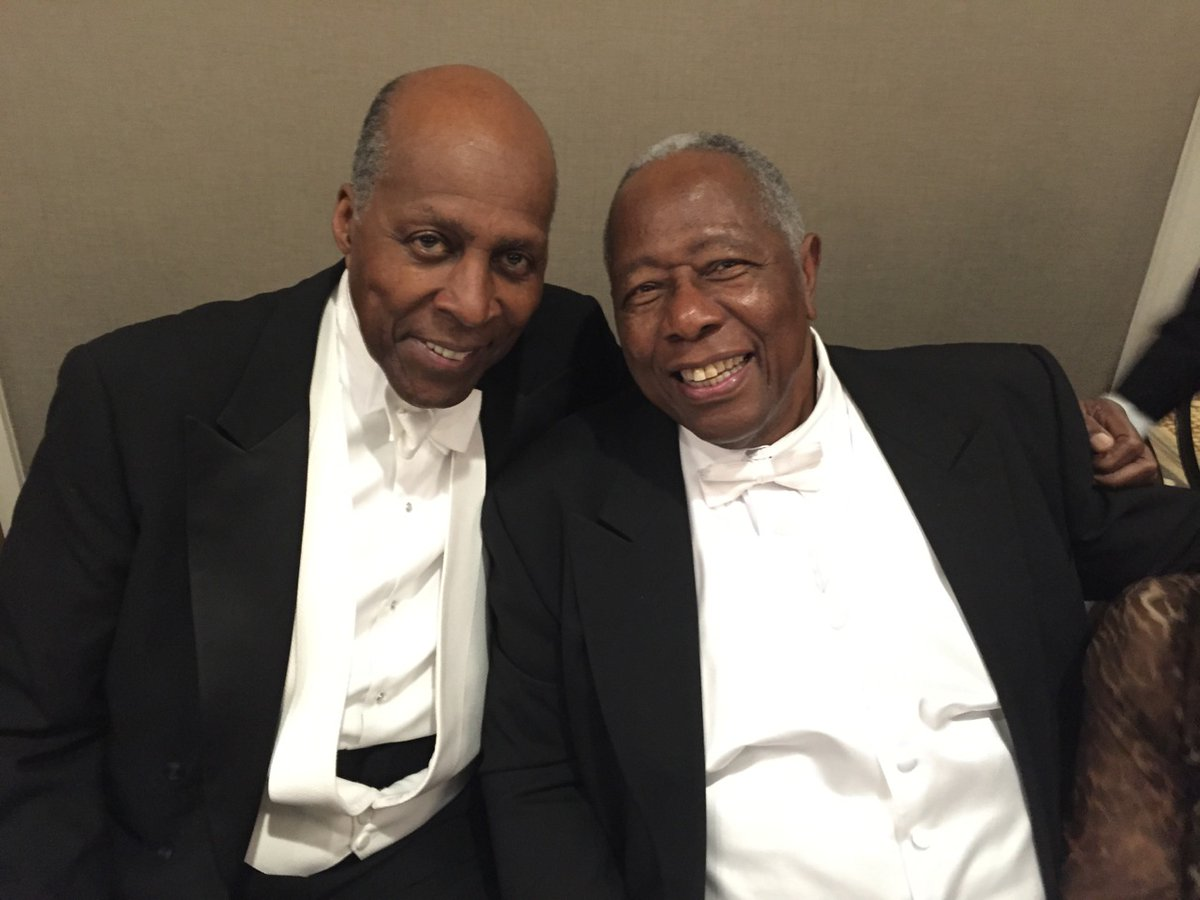 RT @BeschlossDC: My photograph of Vernon Jordan and Hank Aaron, two towering leaders in history of Georgia, 2015: https://t.co/e8rFSuoyRD