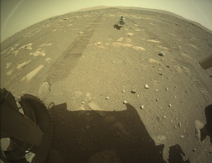 ###  احدث  صورة  من  كوكب  المريخ ############