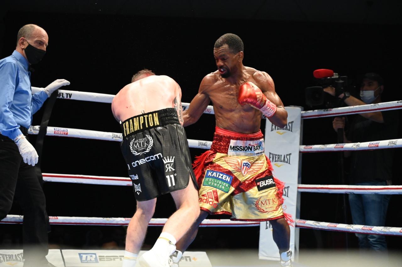 Jamel Herring derrotó por nocaut técnico a Carl Frampton, quien anunció su retiro del boxeo luego del combate.