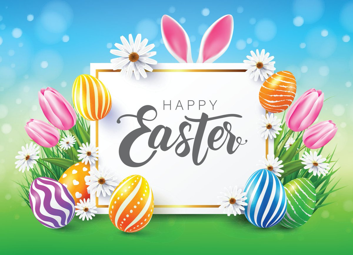 Hoping your Easter is extra bright and happy this year! #HappyEaster https://t.co/gdBscmfloy