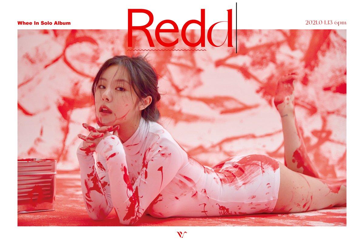 """마마무(MAMAMOO) on Twitter: """"[#휘인] 1st Mini Album [Redd] 2021.04.13 6PM  RELEASE✓ 🔸 CONCEPT PHOTO 🔸 #WheeIn #1st_Mini_Album #Redd… """""""