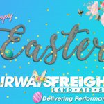 Image for the Tweet beginning: Happy Easter from your friends