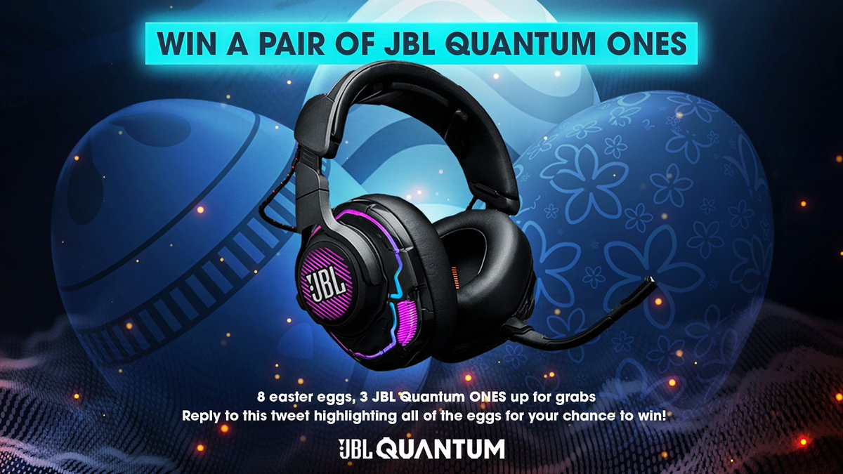 So... we may have hidden some easter eggs in our latest posts 👀  First 3 people to find them ALL will win a JBL Quantum ONE! Have fun hunting 🐣