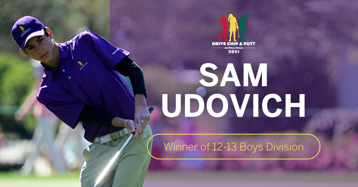 Congratulations Sam!